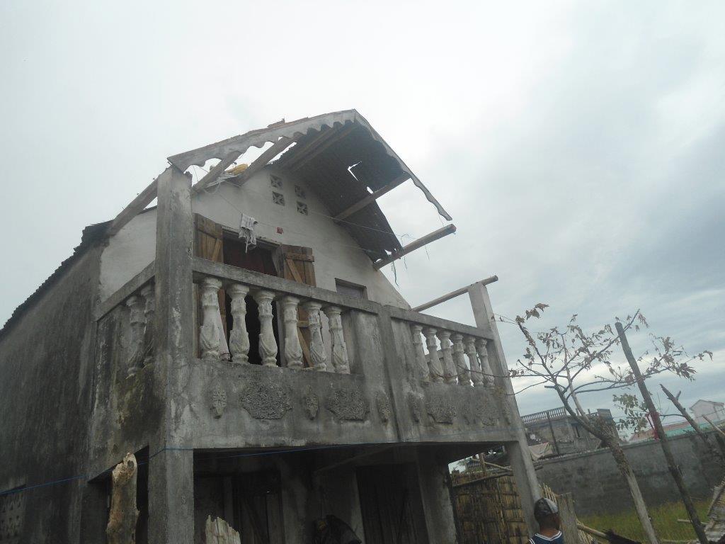 dégats cycloniques à Tamatave