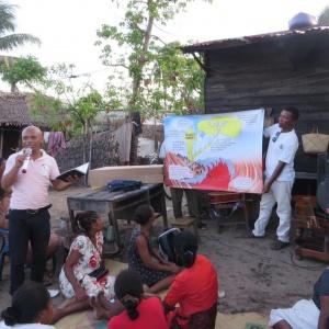 Évangélisation et formation biblique à Tamatave