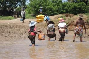 Don de riz Madagascar